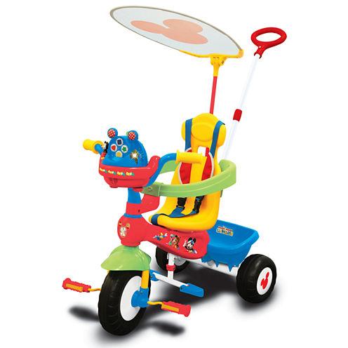 Kiddieland Disney Mickey Mouse Clubhouse Push N' Ride Trike