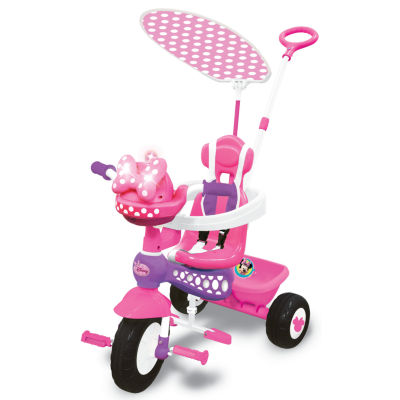 Kiddieland Disney Minnie Mouse Push N' Ride Trike