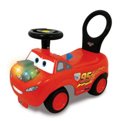 Kiddieland Disney Pixar Cars Lightning Mcqueen Light & Sound Activity Ride-On