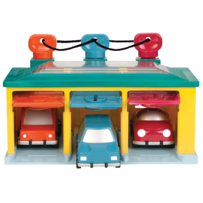Battat 3 Car Garage Playset
