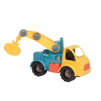 Battat Take Apart Crane Truck