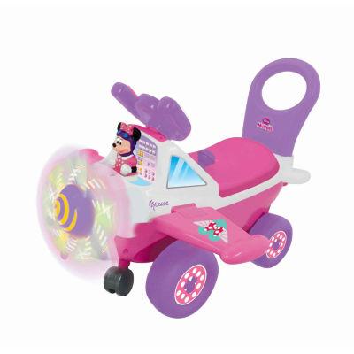 Kiddieland Disney Minnie Mouse  Plane Light & Sound Activity Ride-On
