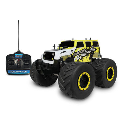 Nkok Mean Machine 1:8 Extreme Terrain Rtr Rc: 2015Jeep Wrangler Unlimited Vehicle