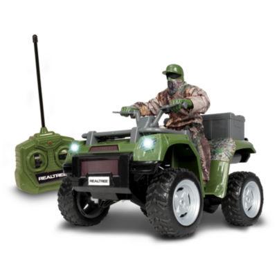 Nkok Realtree Rc Atv Remote Control Toy W/ HunterFigure