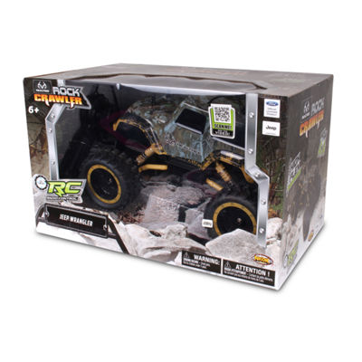 NKOK RealTree RC Jeep Wrangler Rock Crawler RemoteControl Toy