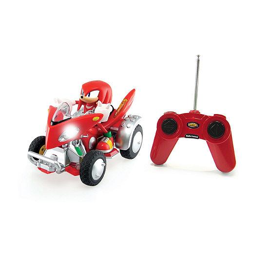 Nkok Sonic And Sega All Stars Racing Remote Controlled Atv Car W/ Lights
