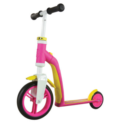 Schylling Scoot & Ride Highway Ride-On,  Baby Pink/Yellow