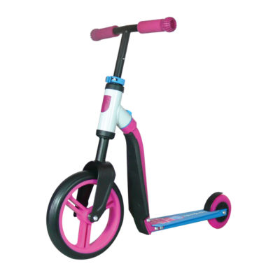 Schylling Scoot & Ride Highway Ride-On, Pink/Blue