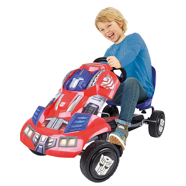 Hauck Transformers Optimus Prime Ride-On Pedal Go-Kart