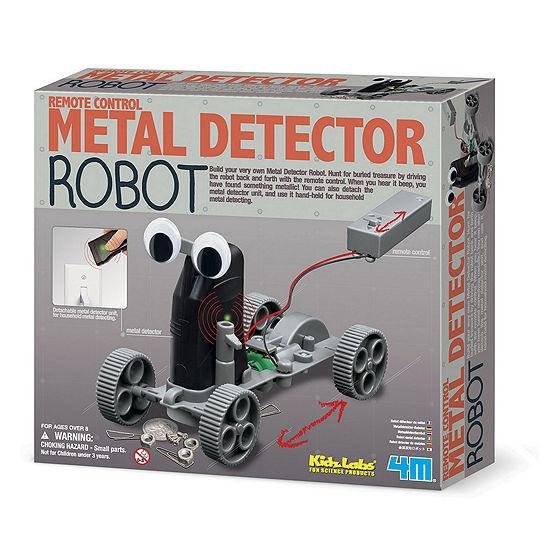 4M Kids Labs Metal Detector Robot - Stem