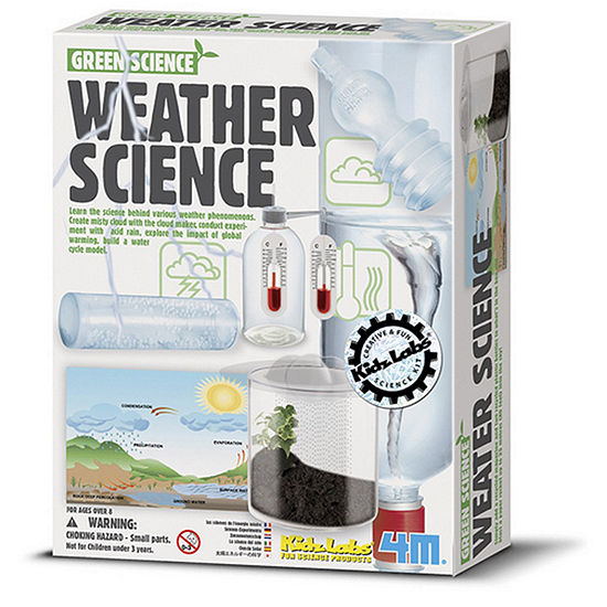 4M Kidslabs Weather Science Kit - Stem