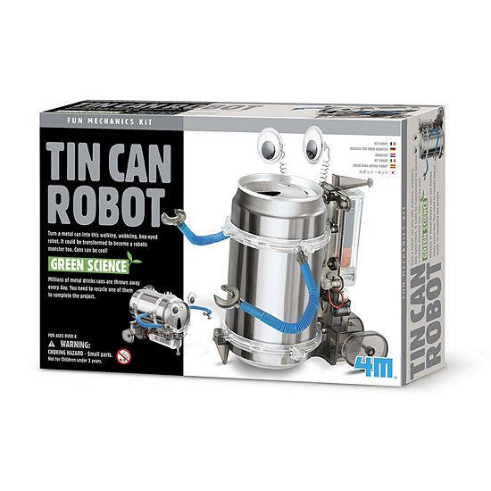 4M Tin Can Robot Scient Kit - STEM