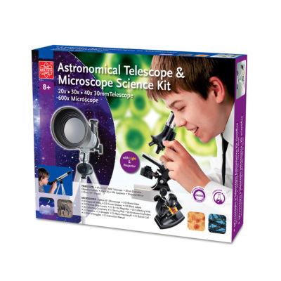 Edu Toys Astronomical Telescope & Microscope Science Kit