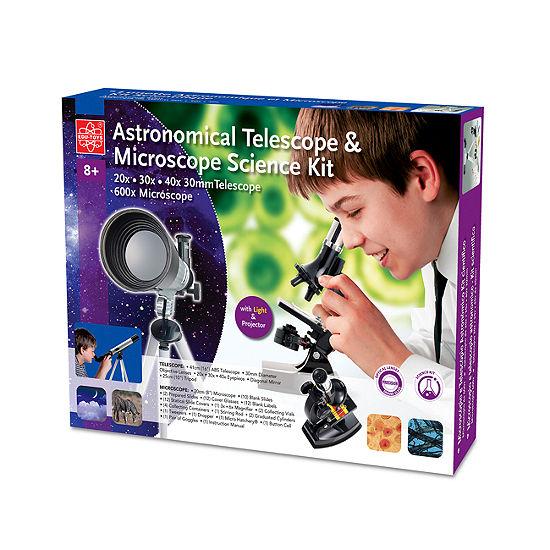 Astronomical Telescope & Microscope Science Kit