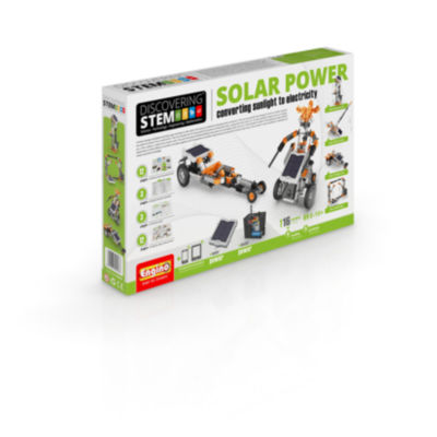 Engino S.T.E.M. Solar Power Building Set