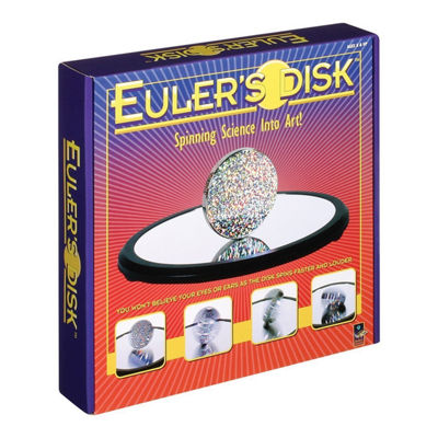 Toysmith Euler's Disk Science & Learning Kit