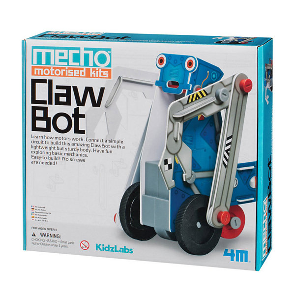 4M Kidzlabs Claw Bot Mecho Motorized Science Kit -Stem