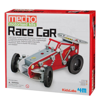 4M Kidzlabs Race Car Mecho Motorized Science Kit -Stem