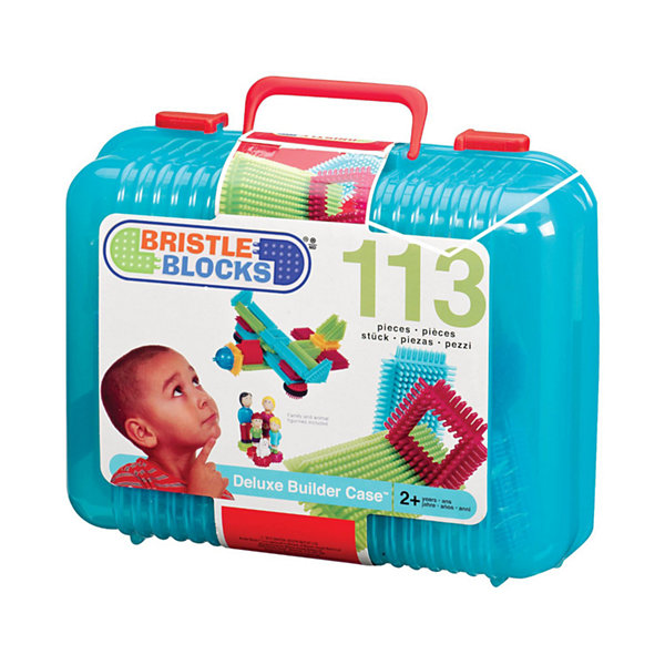 Battat Bristle Block 113 Piece Set
