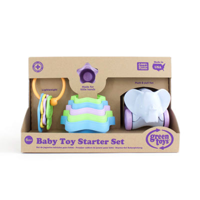 Green Toys Baby Toy Starter Set (First Keys