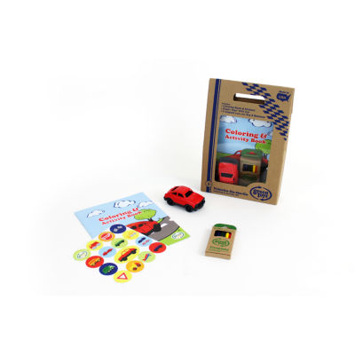 Green Toys Vehicles Coloring & Activity Kit