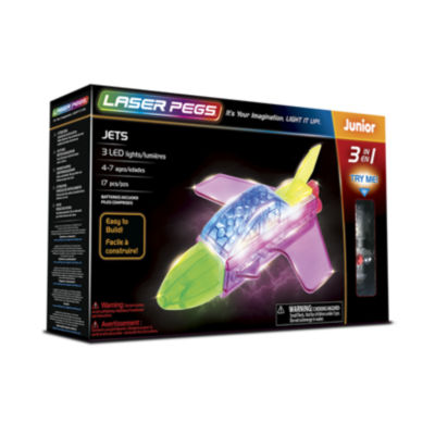 Laser Pegs Jets 3-In-1 Building Set