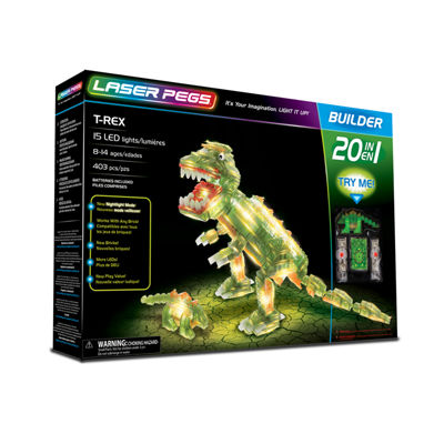 Laser Pegs T Rex 20 in 1 Building Set