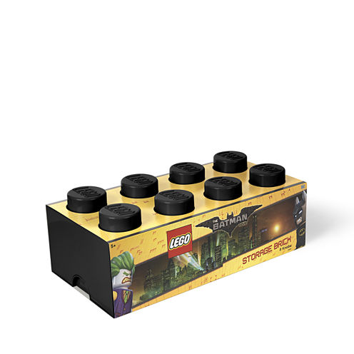 Lego Batman Storage Brick 8 Black