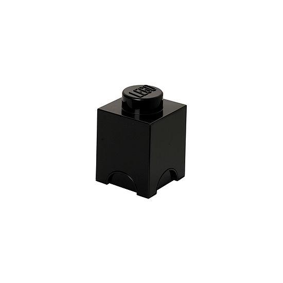 Lego Storage Brick 1 - Black