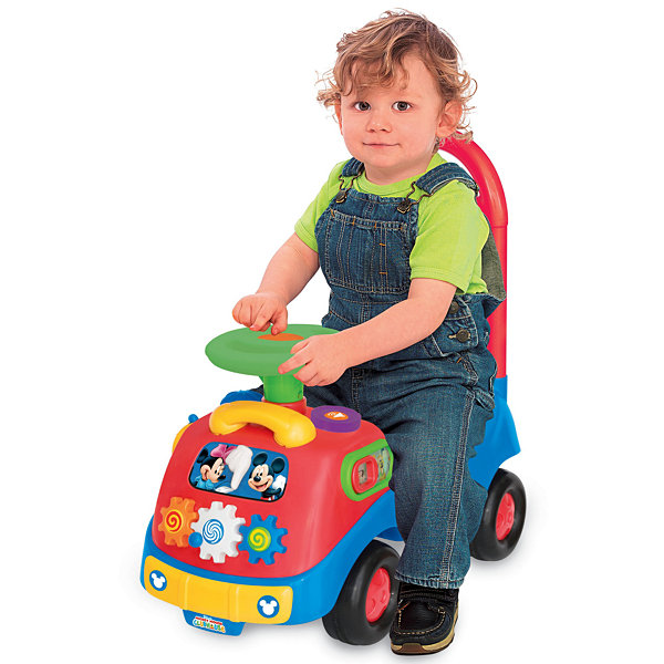 Kiddieland Disney Mickey And Friends Activity Gears Ride-On (Mickey Mouse)