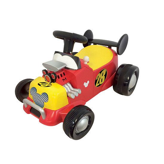 Kiddieland Disney Mickey Mouse Roadster Formula Racer Sound Activity Ride On