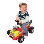 Kiddieland Disney Mickey Mouse Roadster Formula Racer Sound Activity Ride-On
