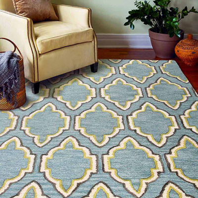 Dover 100% Wool Hand Tufted Area Rug