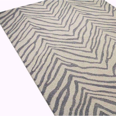 Avon 100% Wool Hand Tufted Area Rug