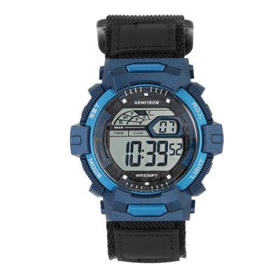 Armitron Prosport Mens Blue Strap Watch-40/8412nvy
