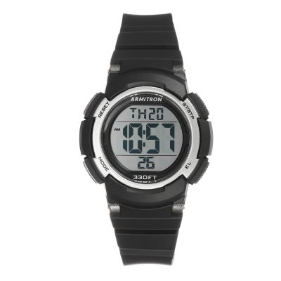Armitron Prosport Womens Black Strap Watch-45/7092blk