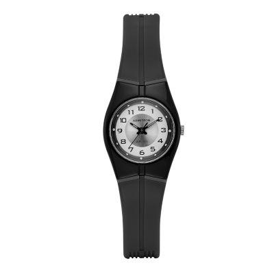 Armitron Prosport Womens Black Strap Watch-25/6355blk