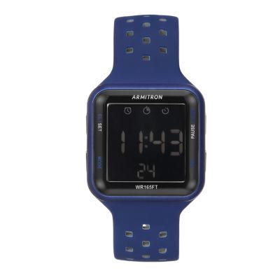Armitron Prosport Unisex Blue Strap Watch-40/8417blu