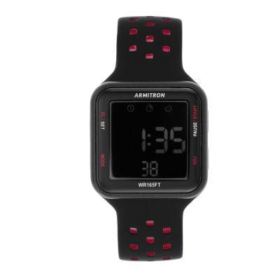 Armitron Prosport Unisex Black Strap Watch-40/8417brd