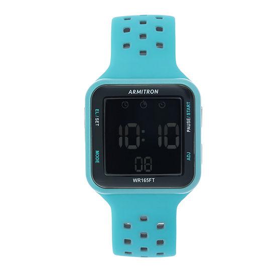 Armitron Prosport Unisex Blue Strap Watch-40/8417lbl