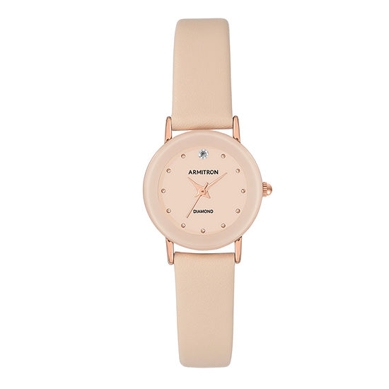 Armitron Womens Pink Strap Watch-75/2447bhrgbh