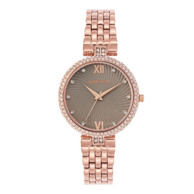 Armitron Womens Rose Goldtone Bracelet Watch-75/5529gyrg