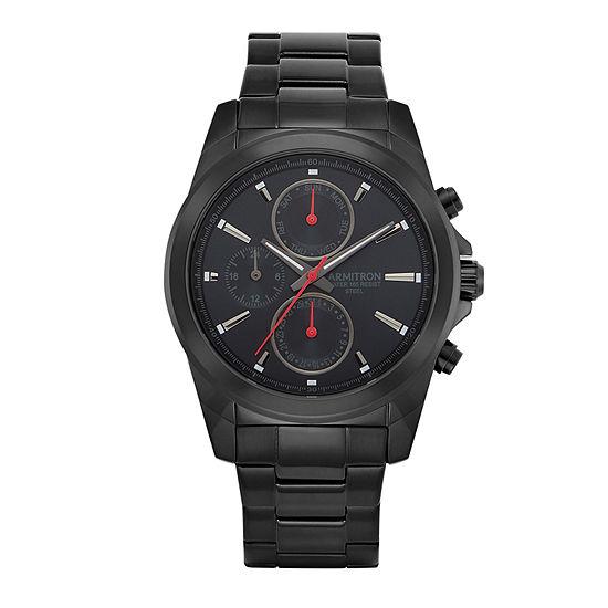 Armitron All Sport Mens Black Bracelet Watch-20/5250bkti