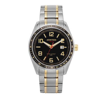 Armitron All Sport Mens Two Tone Bracelet Watch-20/5252bktt