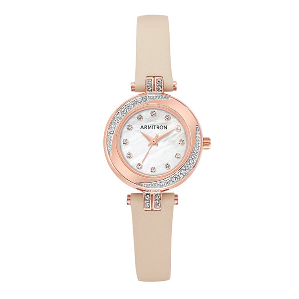 Armitron Womens Pink Strap Watch-75/5542mprgbh