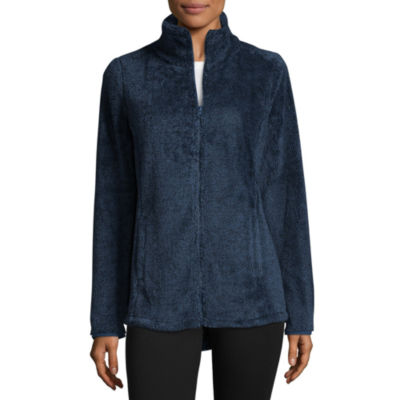 St. John's Bay Active Midweight Fleece Jacket-Talls
