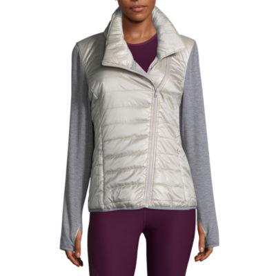 Xersion Mixed Puffer Jacket - Tall