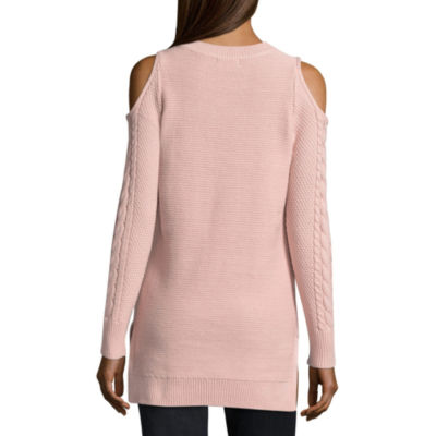 ANA Cable Cold Shoulder Sweater- Talls