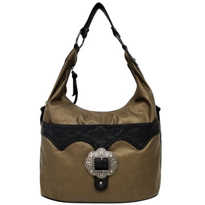 St. John's Bay Buckle Hobo Bag