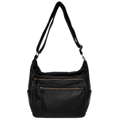 St. John's Bay Vintage Zip Hobo Bag